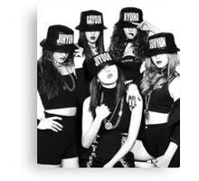 4Minute - Crazy Canvas Print