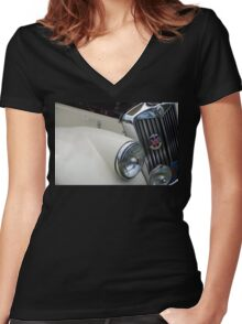 The art of the car: MG TF-1500 > Women's Fitted V-Neck T-Shirt