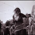 Dancing Girl Triptych by raoulphoto