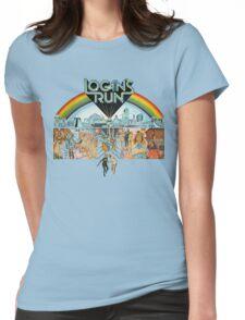 Logan's run Womens Fitted T-Shirt