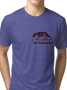 rat community Tri-blend T-Shirt