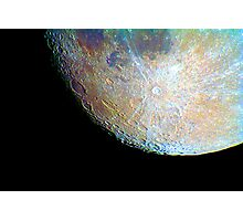 lunar south region Photographic Print