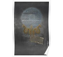 Order of the Phoenix Word Art-- Harry Potter Typography Poster