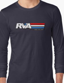 RVA - A Real Local Hero! USA Long Sleeve T-Shirt