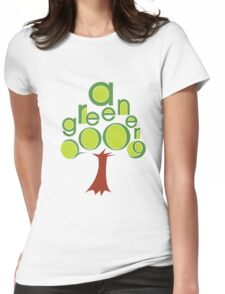 A GREENER 2009! Womens Fitted T-Shirt