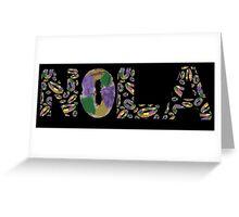 King Cake NOLA Greeting Card