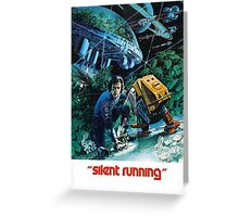 Silent Running Greeting Card