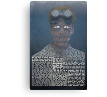 Doctor Horrible Typography Canvas Print