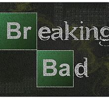 Breaking Bad Logo Typography by SkahfeeStudios