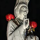 Quan Yin Celebrates the Year of the Goat by heatherfriedman