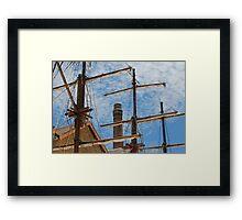 Campbell's Cove, Sydney Harbour Australia Framed Print