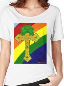 Shamrock Cross Women's Relaxed Fit T-Shirt