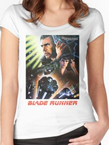 Blade Runner Movie Shirt! Women's Fitted Scoop T-Shirt