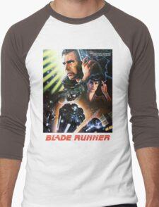 Blade Runner Movie Shirt! Men's Baseball ¾ T-Shirt