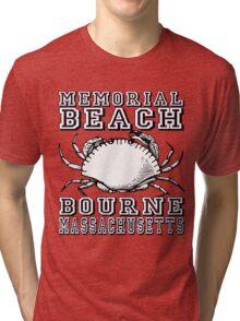 MEMORIAL BEACH Tri-blend T-Shirt