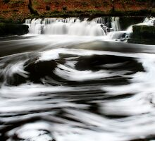 Swirling Waterfall by Anthony Thomas