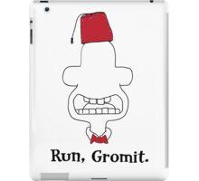 Run, Gromit iPad Case/Skin