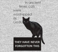 In Ancient Times Cats Were Worshipped As Gods Kids Clothes
