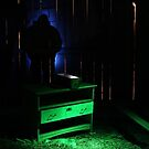 3.3.2015: Light Painting from Barn by Petri Volanen