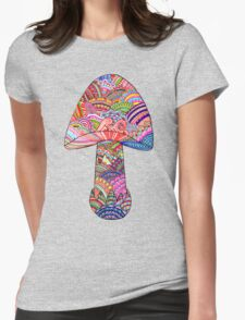 Shroom Womens Fitted T-Shirt