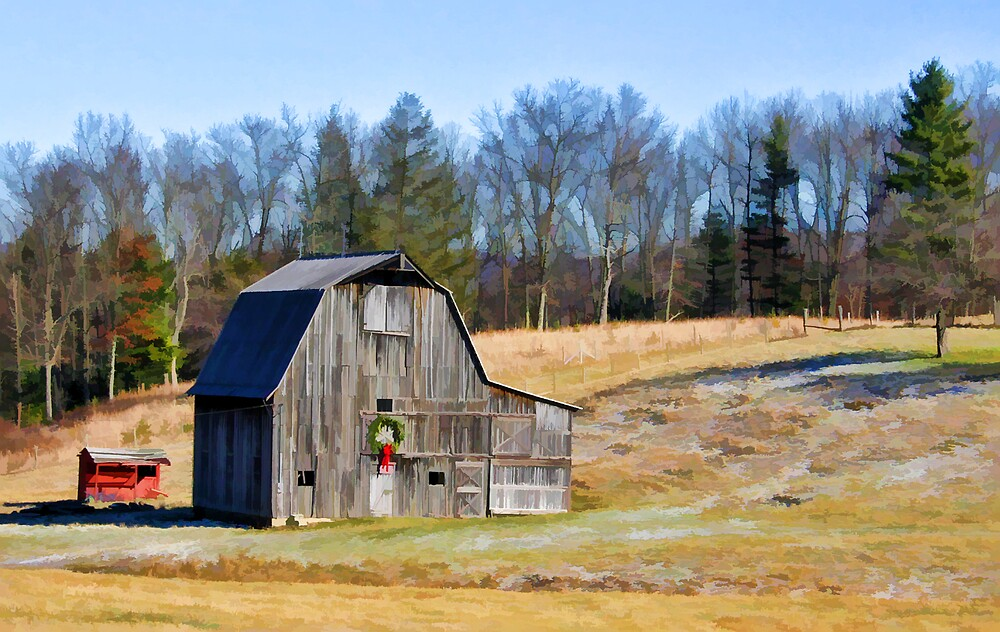 Christmas on the Farm by Patricia Montgomery