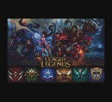 League of Legends 3 Kids Clothes