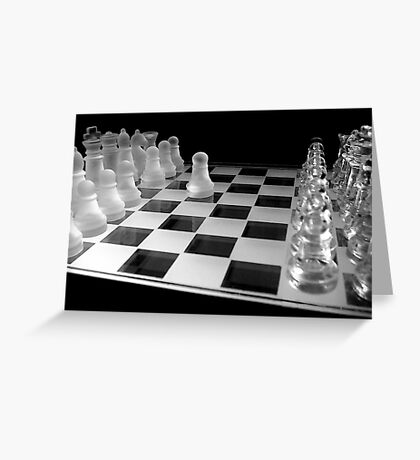 Chess 3045: Your turn... Greeting Card