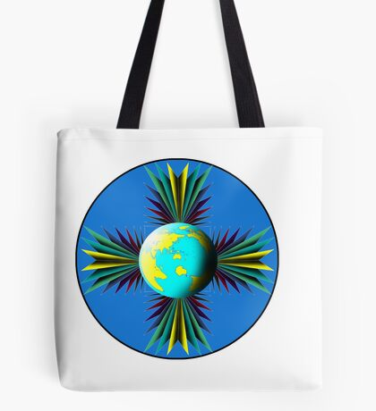 Earth Logo for Sale Tote Bag