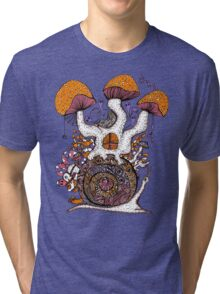 The Snail House Tri-blend T-Shirt