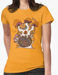 The Snail House Womens Fitted T-Shirt