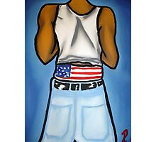 American Sag Swag (A.S.S.) Photographic Print