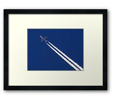 The Mighty Jet Framed Print