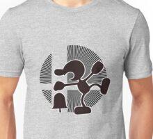 Mr. Game & Watch (Brawl) - Sunset Shores Unisex T-Shirt