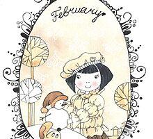 Last snowman. by lelita