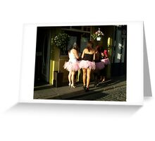 Temple Bar Hen Party Greeting Card