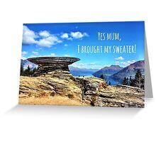 Yes Mum Greeting Card