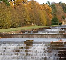 Water Cascade by Duncan Payne