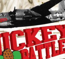 Buckeye Battle Cry Ben Vaughan Edition Sticker