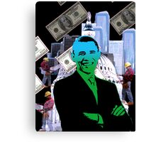 Faith in Barack Obama in the economy Canvas Print