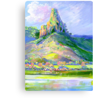 Page's Pinnacle , Numinbah National Park Queensland  Canvas Print