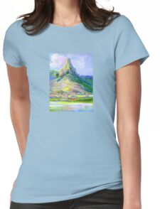 Page's Pinnacle , Numinbah National Park Queensland  Womens Fitted T-Shirt