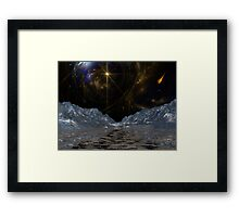 Asteroid Valley 04 Framed Print