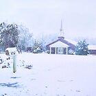 Red Bluff Church by Victoria John Ritterbush