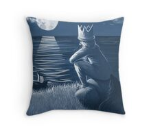 the king of all wild things Throw Pillow