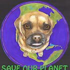 Buddha Dog Saves the Planet by joga