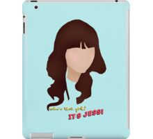 Who's that girl? It's Jess! iPad Case/Skin