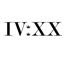 420 In Roman Numeral. IV:XX by FueledByStoners