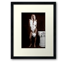 Fine Art Implied Nude Framed Print