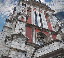 gothic architecture by Sergieiev