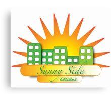 Sunny Side Estates Canvas Print